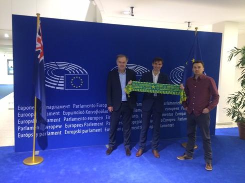 Soutien de l'Intergroupe Sports du Parlement Européen