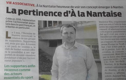 REVUE DE PRESSE : « LA PERTINENCE D'À LA NANTAISE »