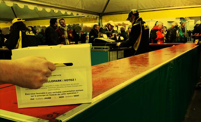 Exigence d'une véritable concertation sur le YelloPark : à la Beaujoire, les supporters confirment